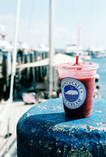 beach, bikes, blue, boat, boy, cream, drink, friends, girl, house, ice, ice cream, nantucket, pink, red, summer, water, white