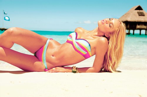 beach, bikini, body, candice swanepoel, cute
