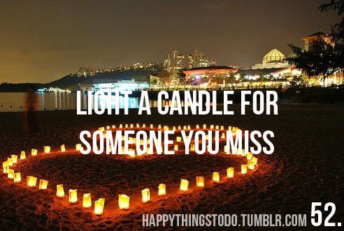 beach, candle, cute, happythingstodo, heart, light, love, miss, sad