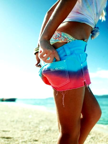 beach, fashion, girl, pretty, shorts