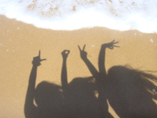 beach, girls , hair, hand, hands