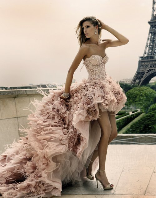 beatiful, corset, dress, fancy, fashion, gown, haute couture, heels, model, paris, photography, pink