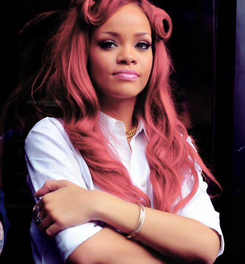 beautiful, beauty, celebrity, pink lips, rihanna