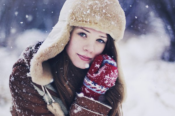 beautiful, beauty, cold, deviantart, fashion, girl, photography, pomidorova, snow, winter