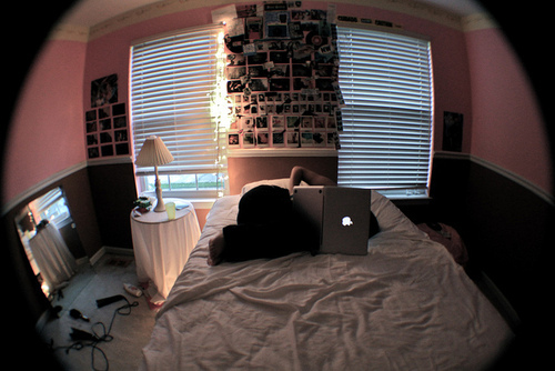 beautiful, bed, bedroom, confort, cool room, cute, girl, hair, photo, photograph, photography, pretty, room