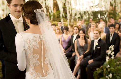 beautiful, bella, breaking dawn, dress, edward, edward and bella, love, marry, twilight, wedding