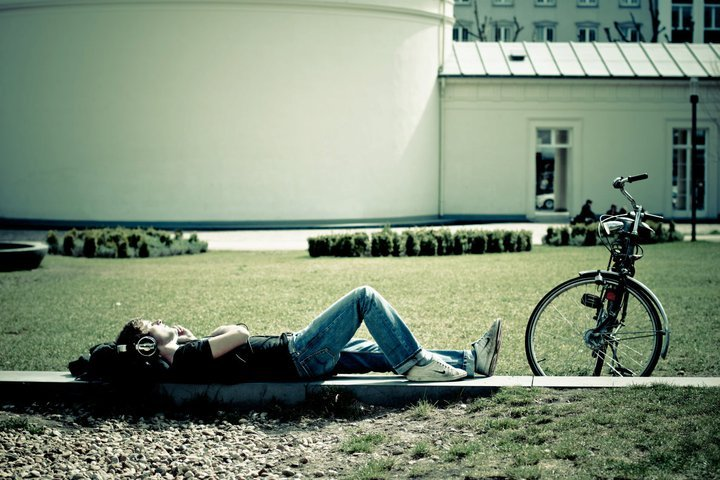 beautiful, bike, boy, music, sleep