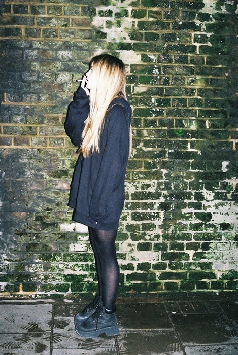 beautiful, black, blonde, boots, clothes