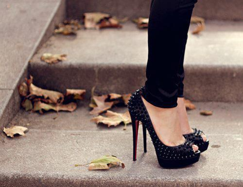 beautiful, black, cool, heels, high heels