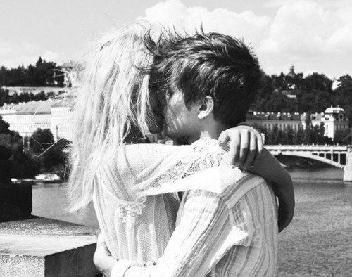 beautiful, blond, boy, brown, cute, cute couple, girl, hand, happiness, heart, kiss, like, love, photo, photography, picture, pretty, smile, style, we heart it