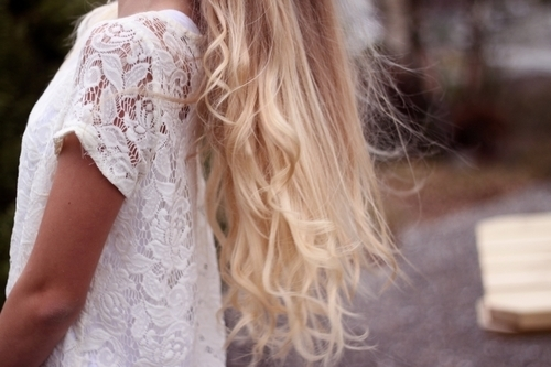 beautiful, blond, clothes, curl, cute, dress, hair, lovely, perfect, pretty, romantic, white, wind