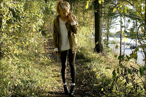 beautiful, blonde, blonde hair, boots, coat, cute, face, fashion, fashion model, flawless, forest, girl, gorgeous, hair, hosiery, long hair, lovely, model, perfect, perfection, petra, petra karlsons, pretty, pull over, skinny, smile, stunning, sweat
