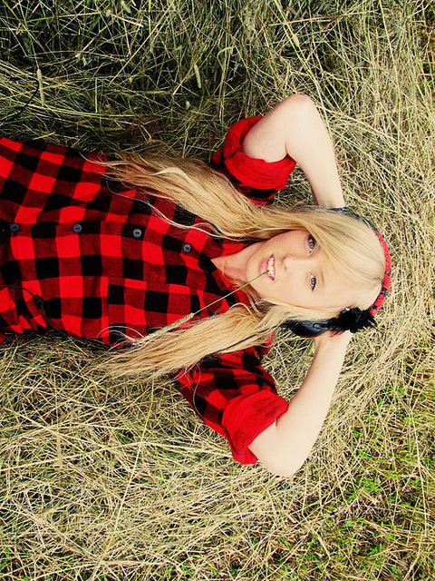 beautiful, blonde, blue, calm, chill, easy, fashion, girl, hair, hay, original, pale, photography, plaid, poland, pretty, red, shoes, smile, summer, swagg