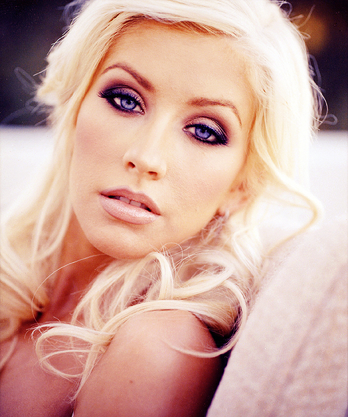 beautiful, blonde, christina aguilera, girl, hair