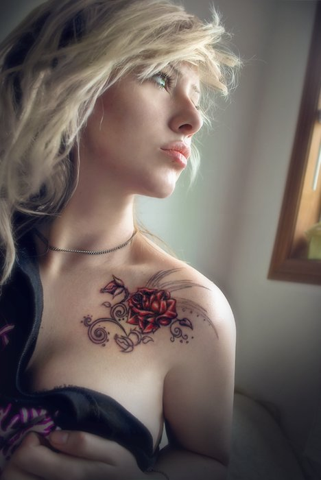 beautiful, blonde, cool, cute, fashion, girl, hair, photo, photography, pretty, tattoo, victoria murder, woman