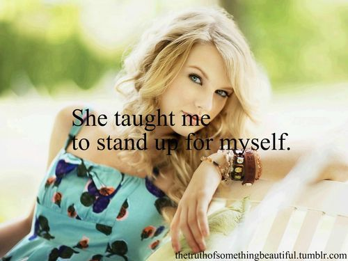 beautiful, blonde, fearless, fun, girl, pretty, quote, stand up, swift, taylor, taylor swift, text
