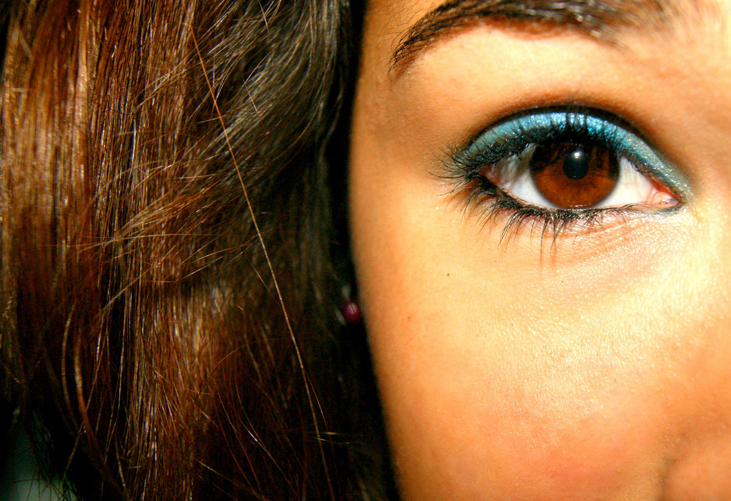 beautiful, blue, brown, cool, eye