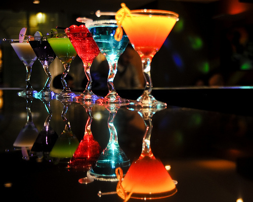 beautiful, blue, cocktails, cute, drink, drinks, pretty, rainbow, photography, photo, red