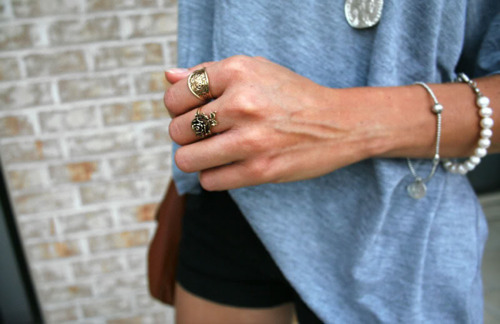 beautiful, blue, cool, cute, fashion, girl, outfit, pretty, rings, sexy, summer, white