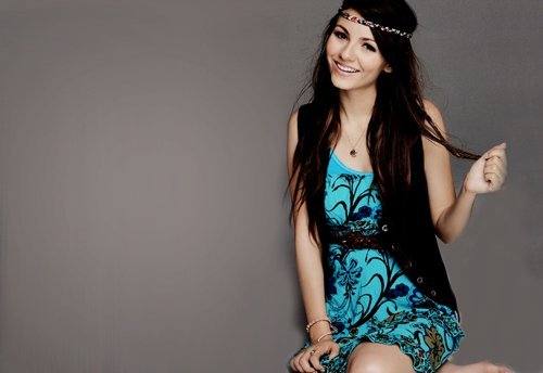 beautiful, blue, cute, girl, hair, long hair, photo, pretty, victoria justice