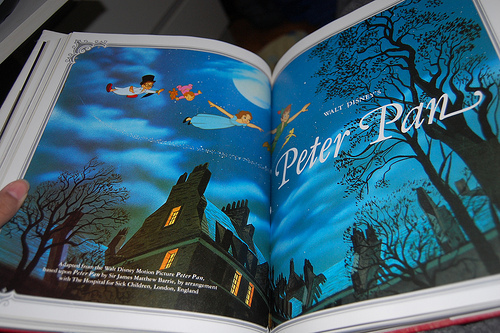 beautiful, book, cute, disney, peter pan