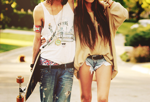beautiful, boy, couple, fashion, girl