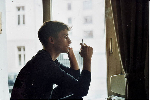 beautiful, boy, hipster, indie, smoke, smoking