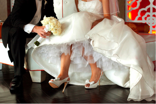 beautiful, bride, fashion, flowers, wedding