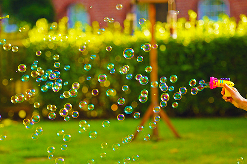 beautiful, bubbles, bubbly, colors, cute