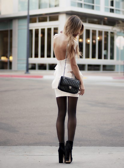 beautiful, chanel, dress, fashion, girl, hair, outfits