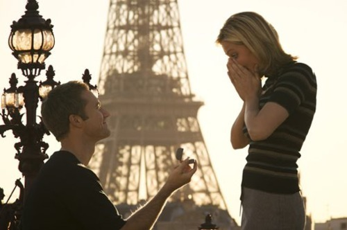 beautiful, couple, cute, love, marriage, marry, paris, perfect, ring, romantic, wedding