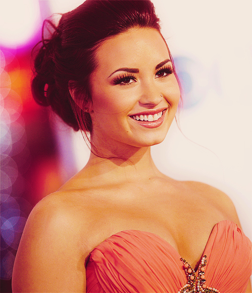 beautiful, demi, demi lovato, dress, eyebrows