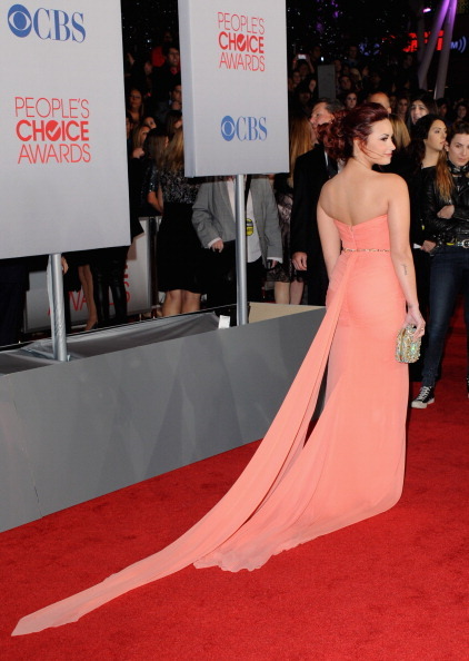 beautiful, demi lovato, dress, girl, pca