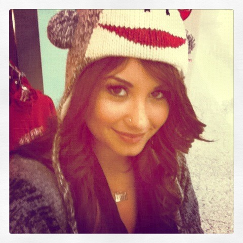 beautiful, demi lovato, hat, smile