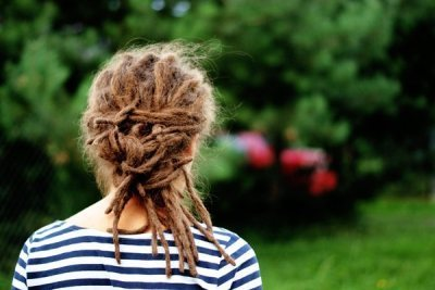 beautiful, dread, dreadlocks, girl, green