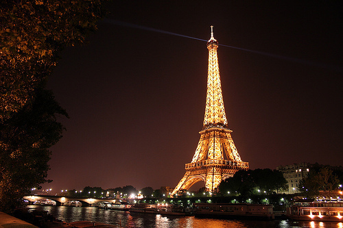 beautiful, dream, eiffel tower, lights, paris
