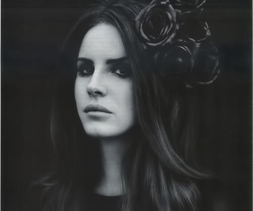 beautiful, eyes, fashion, flowers, girl, glamour, hair, lana del rey, mouth, perfect