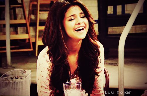 beautiful, laugh, selena gomez, smile, wizards of waverly place