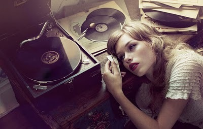 beautiful, love, record, vintage
