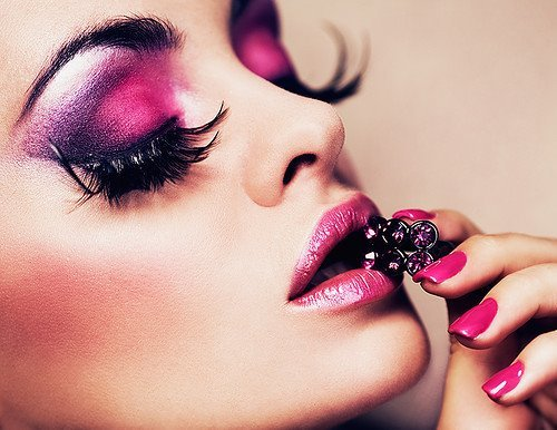 beautifull, beauty, chic, fashion, makeup, nice, pink, pretty, sweet