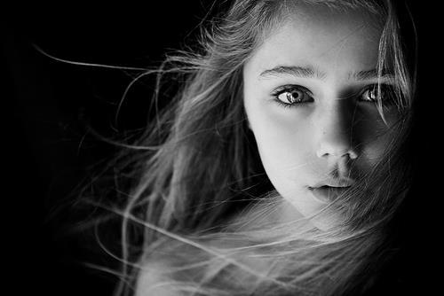 beautifull, black & white, eyes, fashion, girl
