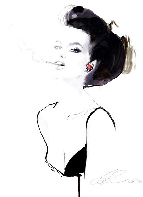beautiul, drawing, fashion, girl, illustration
