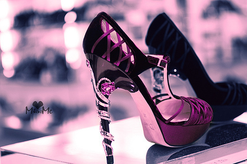 beauty, black, dior, fashion, heels