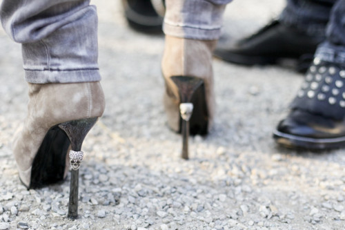 beauty, boots, fashion, girl, heels, high heels, jeans, photography, rocker, shoes, skull, skulls, woman