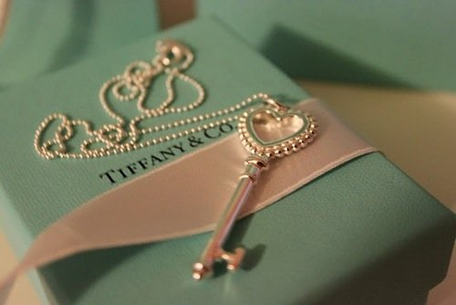 beauty, fashion, femme, girly, jewelry, key, love, necklace, pretty, style, tiffany