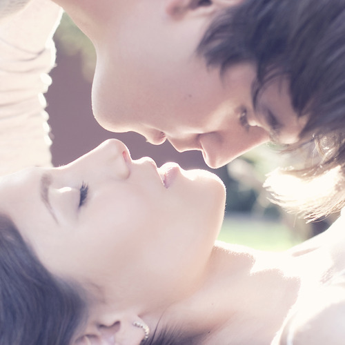 beautyful, girl, guy, kiss, love