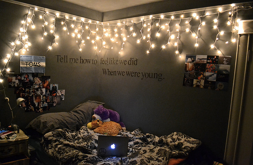Tumblr Rooms with Lights and Quotes 500 x 327