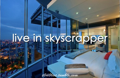 bedroom, home, life, live, luxury, skyscrapper, text, to do list, typography