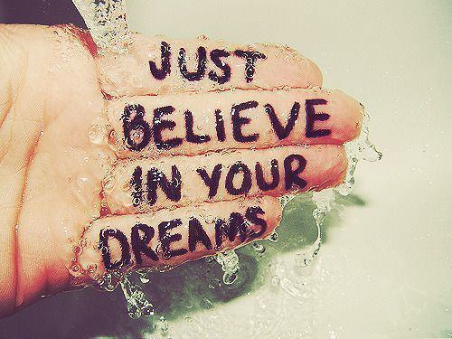 believe, dream, dreamer, dreams, hand, quotes, text, water