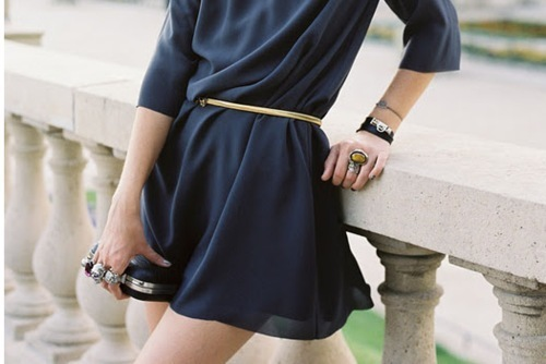 belt, black, dress, fashion, girl